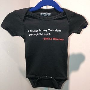 Said No Baby Ever baby onesie